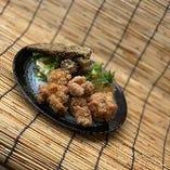 若鶏の唐揚げおろしポン酢