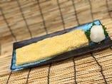 帆立貝の出汁巻き玉子膳
