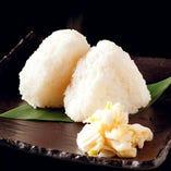 はえぬき米の塩むすび【山形県】