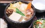 豆乳チゲ鍋