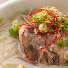 温麺(テールラーメン)