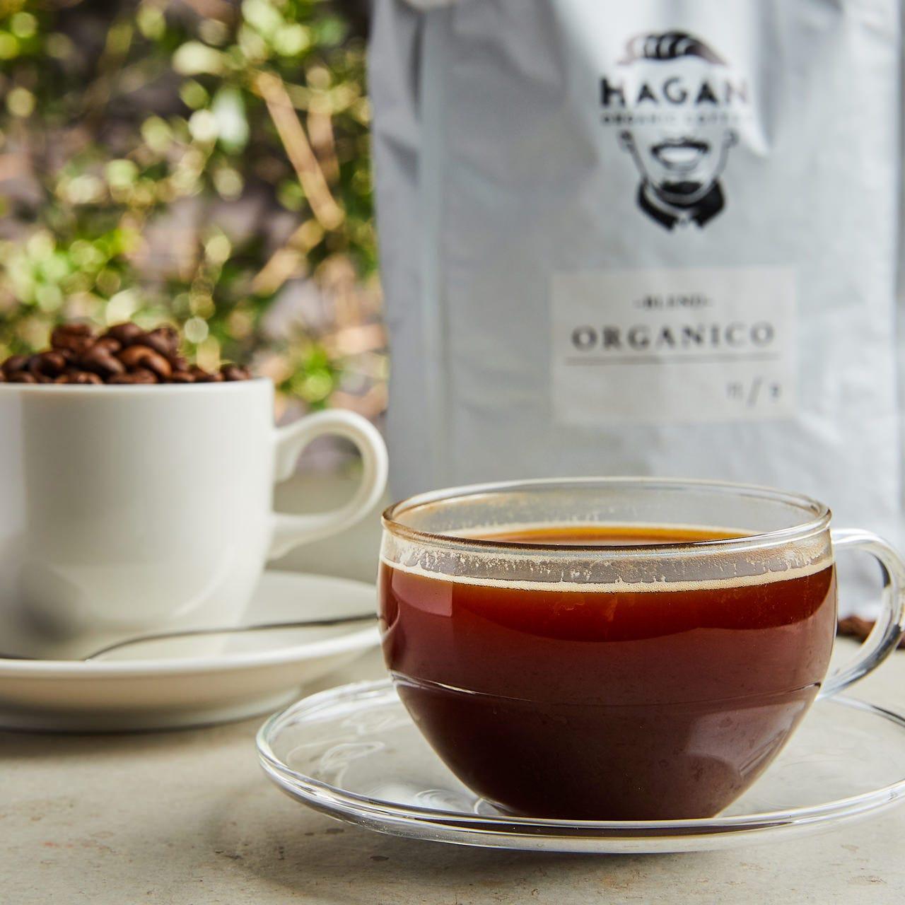 農薬も化学肥料も使用しないコーヒー