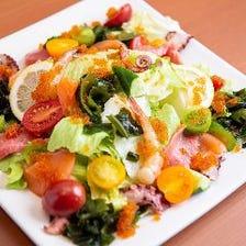 【イチオシ!】海鮮たっぷりサラダ