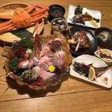 旬の鮮魚 おまかせコース 3,000円(税抜)~