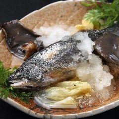 近江鮎の塩焼き