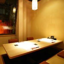 【個室・半個室】隠れ家的雰囲気の席