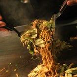 こだわり生麺を使用した、馴染みある本格焼きそば!