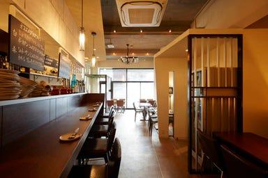 キッチン ボンノ 桜木町店 徳島県産食材使用 店内の画像