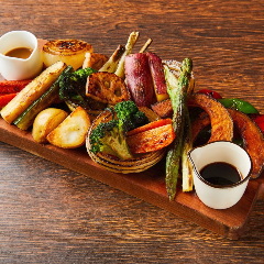 MORI FARMのてんこ盛り野菜グリルプレート
