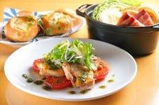 ◆女性に人気!野菜中心のイタリアン