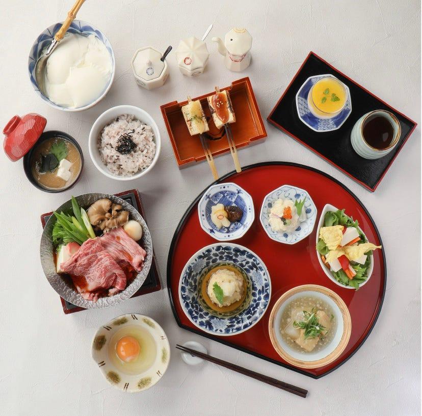 [夜席]牛すき豆富膳 3900円税込