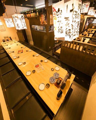 江坂 海鮮食堂 おーうえすと  店内の画像