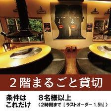 【2階まるごと】8名以上より貸切!