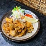 ホルモン焼き(ニンニク味噌・ねぎ塩)