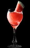 小玉西瓜×ラズベリー梅酒のミクソロジー