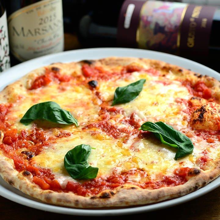 生地からこだわる本場イタリアの味!