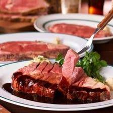 当店自慢!ローストビーフと肉料理