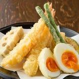 おまかせ天ぷら七点盛り