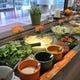季節野菜のサラダ&スープバー