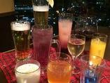 生ビールは360円(税込)♪ 他多数ドリンクご用意してます!