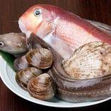 季節折々の魚介