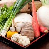季節折々の野菜