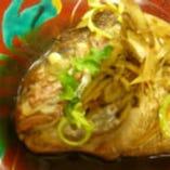 煮物 天然真鯛の荒炊き 通年