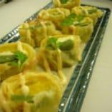 単品料理 生麩とチーズの湯葉巻天婦羅