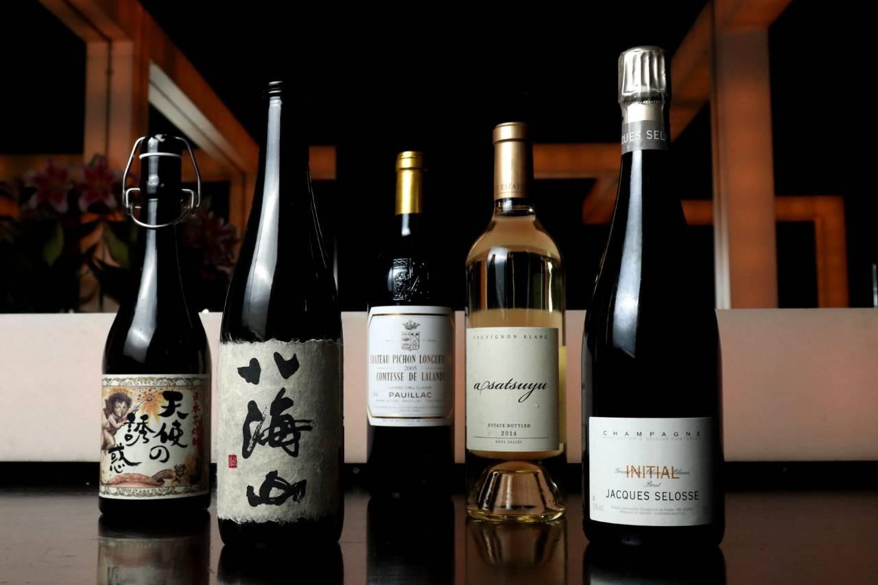 日本酒・焼酎・ワインとそれぞれのシーンに合わせて!!