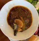 ビーフシチュー 温野菜添え(メイン料理は冷凍してあります)