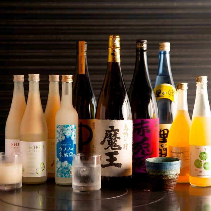 日本酒から果実酒まで充実の品揃え