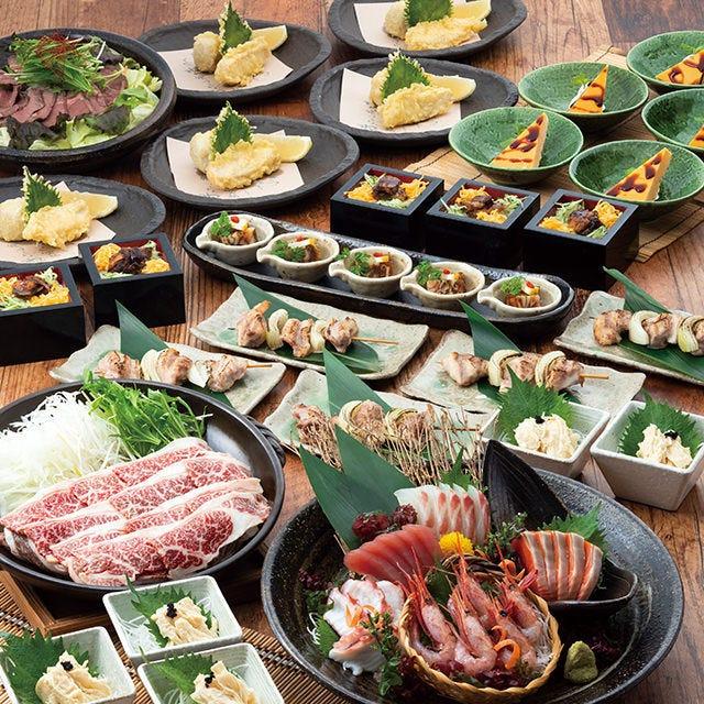 季節のご宴会…おすすめ『幸(さち)コース』厳選料理=全10品!!