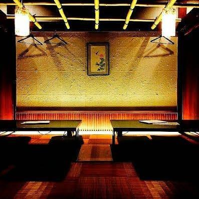 竹林をイメージした完全個室
