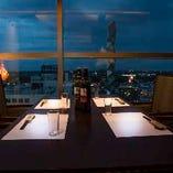 ●水戸市、那珂市の夜景が見える個室●