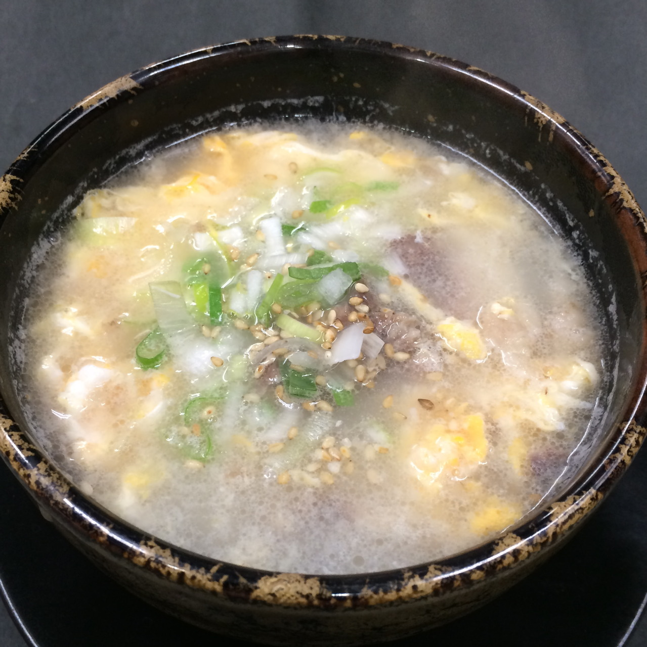 手作りのコムタンスープ!