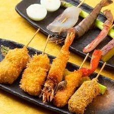 「海鮮」串カツ盛り合わせ