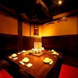 ◆ 『わん』名物 囲炉裏個室 ◆