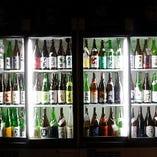 日本酒の飲み放題がついています