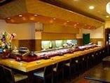 本格江戸前寿司をご堪能ください
