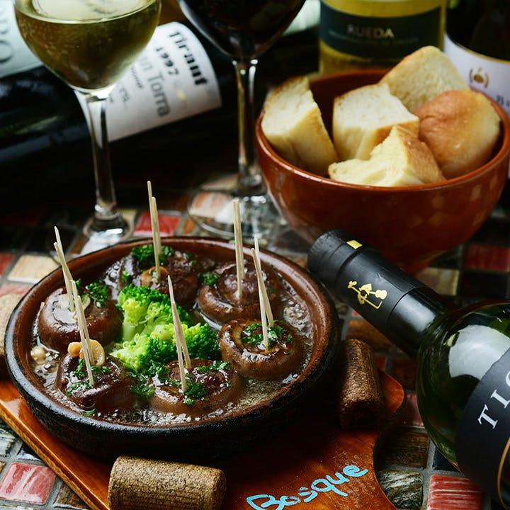 本格スペイン料理×ワインで乾杯