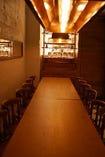 ビアレストランの雰囲気も楽しめる特別な個室
