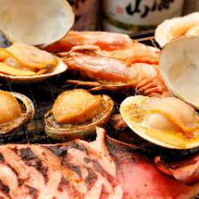 食欲をそそる香ばしい香りの浜焼き