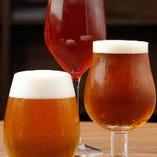 生ビール5種にボトルビール10種類!
