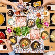 アグー豚&沖縄料理が食べ放題