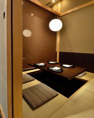 名物トマトすき焼き 日本料理 大坂ばさら グランフロント大阪 店内の画像