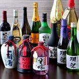 日本酒も徳島の地酒【鳴門鯛】から話題の【獺祭】やワイン等もご用意
