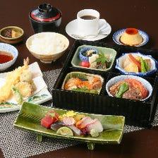 ■ちょっと贅沢に和食ランチや昼懐石