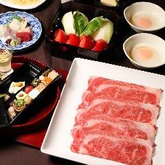 名物トマトすき焼き 日本料理 大坂ばさら グランフロント大阪