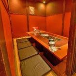 堀りごたつ完全個室(~8名様×2部屋)