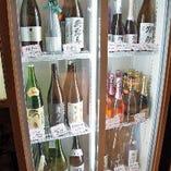 日本酒冷ケース
